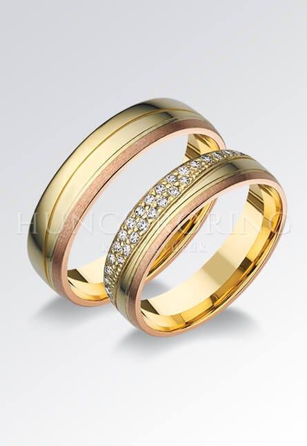 Hungororing Karikagyűrűk - fehérarany gyűrűk