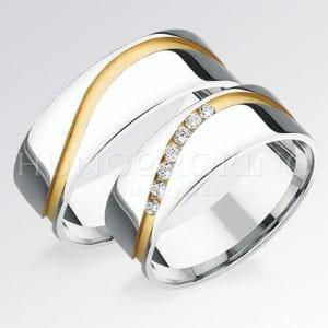 Köves arany karikagyűrűk